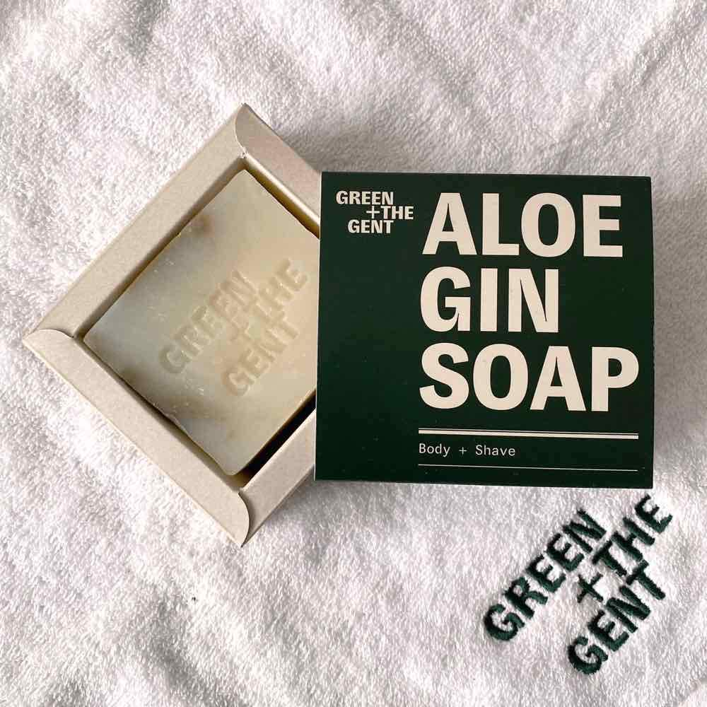Green+ The Gent Aloe Gin Soap - 1