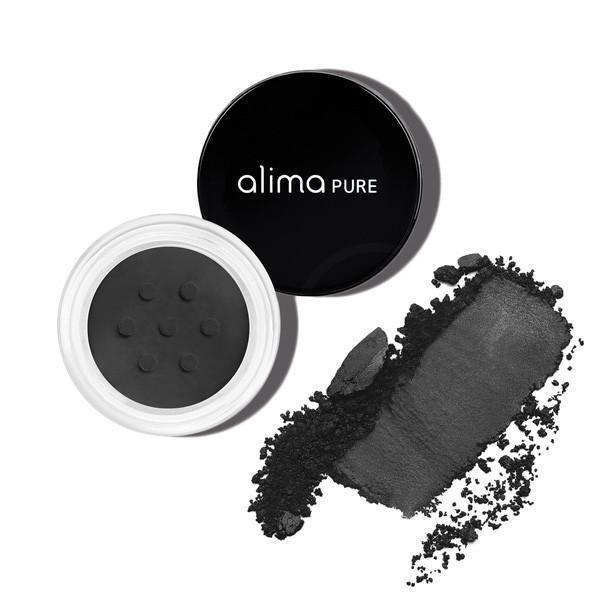 alima PURE Satin Matte Eyeshadow - Black