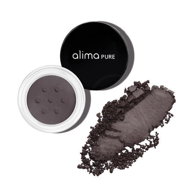 alima PURE Satin Matte Eyeshadow - Black Violett