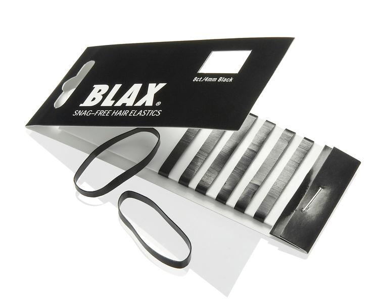Blax Hair Elastics 4mm - black