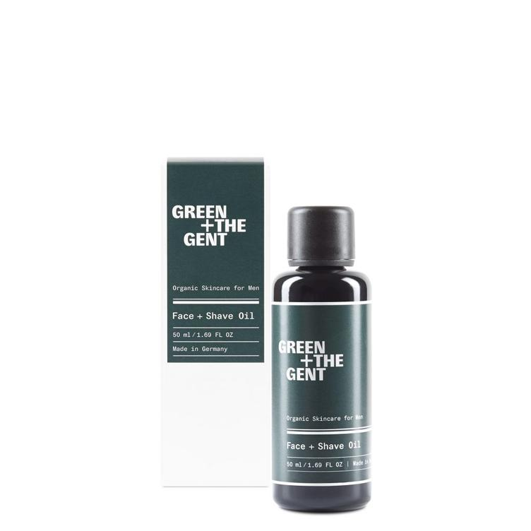 Green+ The Gent Face+Shave Oil - 1