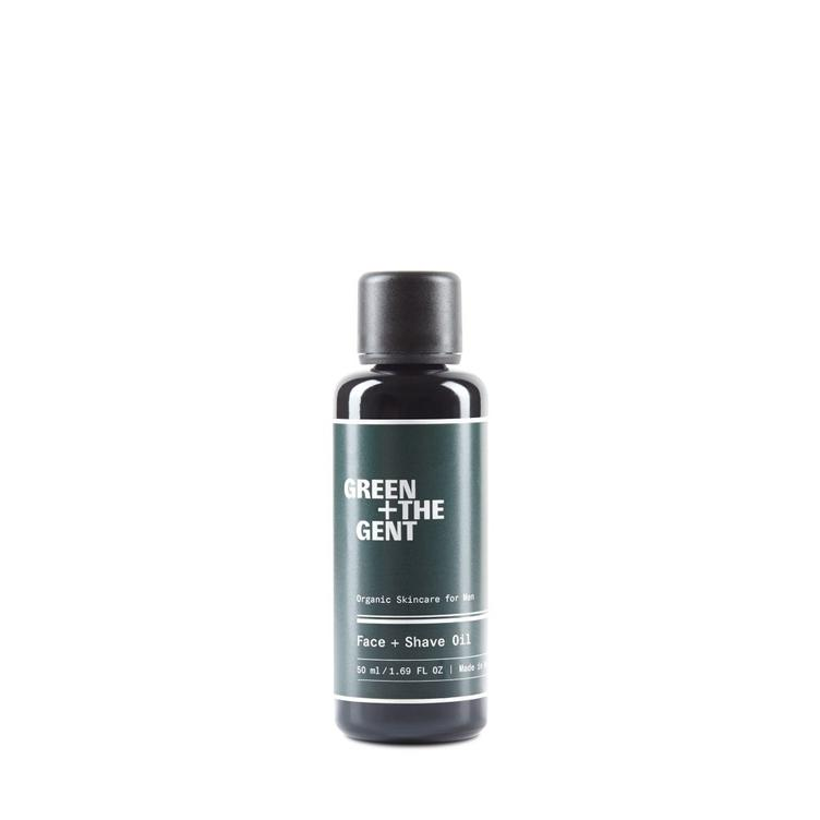 Green+ The Gent Face+Shave Oil