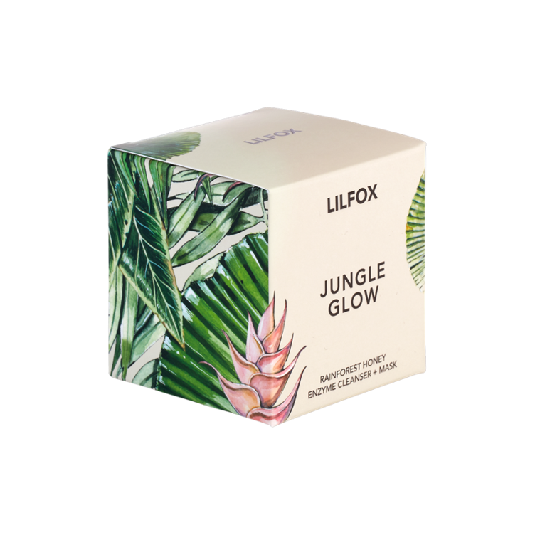LILFOX® JUNGLE GLOW Tropical Honey Enzyme Polish+Mask - 1