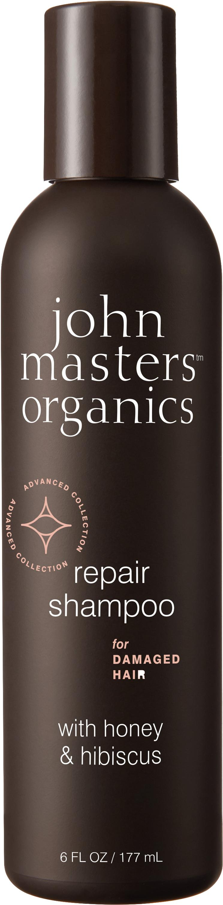 John Masters Organics Repair Shampoo For Damaged Hair With Honey Hibiscus