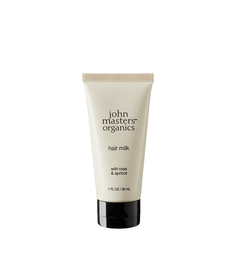 John Masters Organics Rose & Apricot Hair Milk Travel