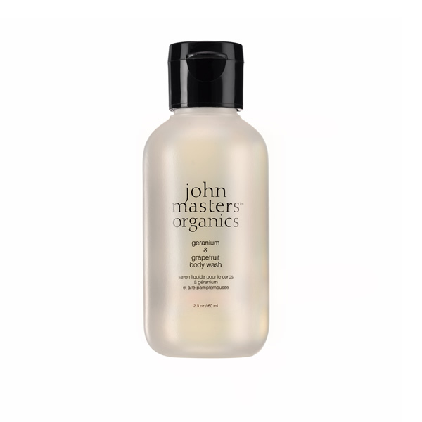 John Masters Organics Geranium & Grapefruit Body Wash Travel