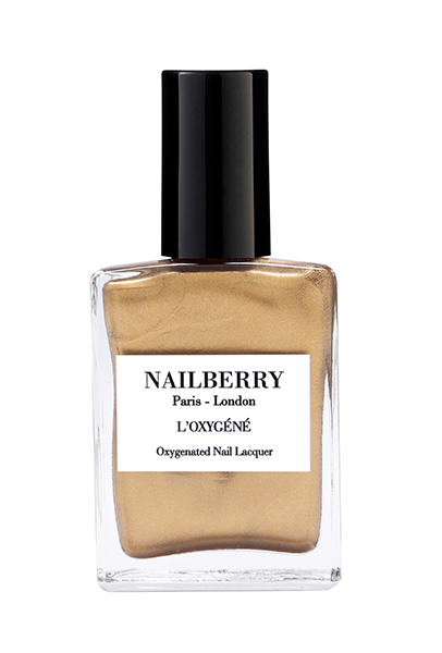 NAILBERRY- Gold Leaf