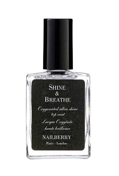 NAILBERRY - Atmungsaktiver Top Coat - Shine & Breathe