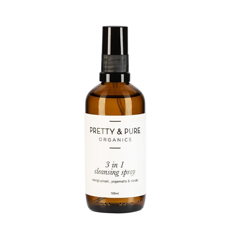 Pretty & Pure Organics 3 in 1 Cleansing Spray Full Size