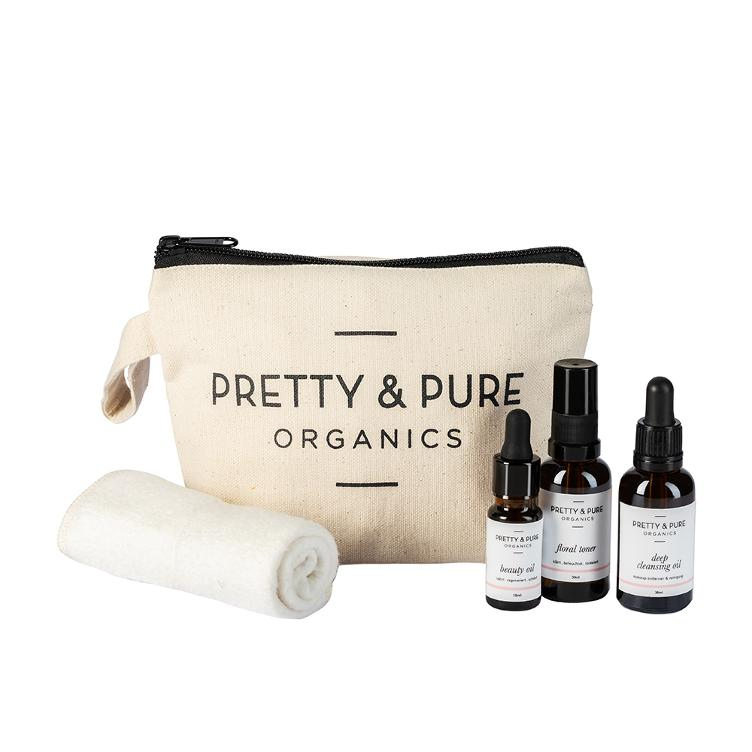 Pretty & Pure Organics Travel & Try Kit